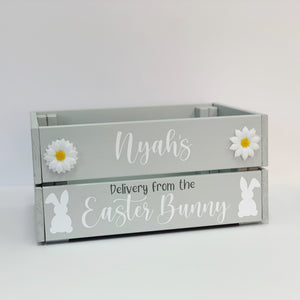 Personalised Easter Box - Delivery From the Easter Bunny Design