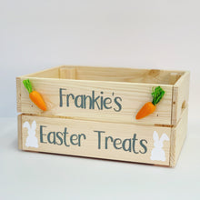 Load image into Gallery viewer, Personalised Easter Box - Easter Treats Design