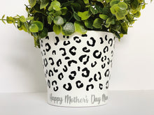 Load image into Gallery viewer, Personalised Leopard Plant Pot