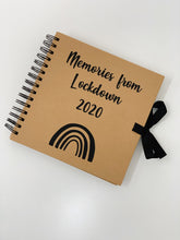 Load image into Gallery viewer, Personalised Scrapbook - Memories - Rainbow