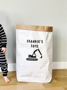 Large Paper Storage Sack