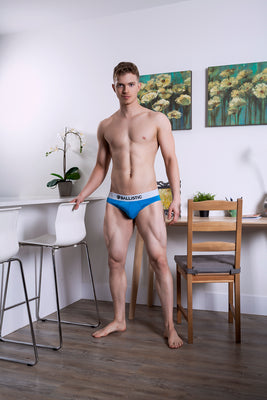Ballistic Blue Brief - BALLISTIC MENSWEAR