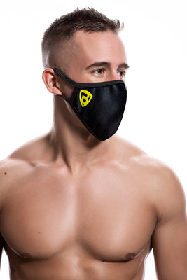 Ballistic Reusable Face Mask Black - BALLISTIC MENSWEAR