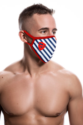 Ballistic Reusable Face Mask Red - BALLISTIC MENSWEAR