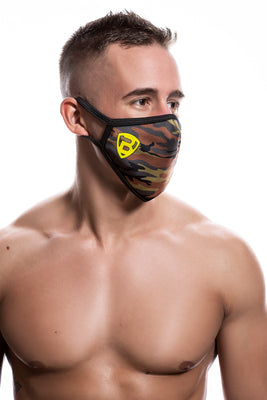 Ballistic Reusable Face Mask Camo - BALLISTIC MENSWEAR