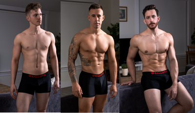 Lycra Boxer Briefs Black - 3 pack - BALLISTIC MENSWEAR