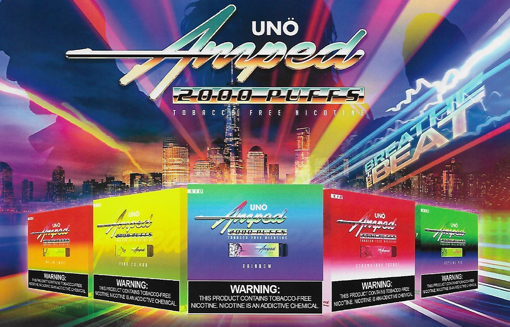 Uno Amped 2000 Puff Disposable Vape