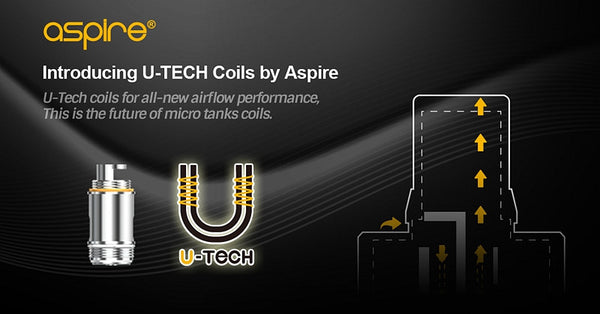 Aspire Utech Replacement Coils for PockeX and Nautilus X