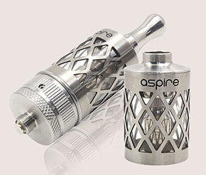 Aspire Nautilus with Pyrex and Hollowed Out Stainless Skeleton Sleeve - Big D Vapor - 1