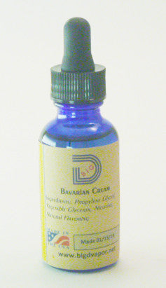 eLiquid - Bavarian Cream 30 mL - Big D Vapor