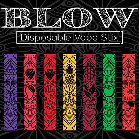 BLOW Disposable Vape Stix 5% Nicotine (16 Flavors)