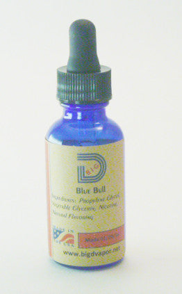 eLiquid -Blue Bull 30 mL - Big D Vapor