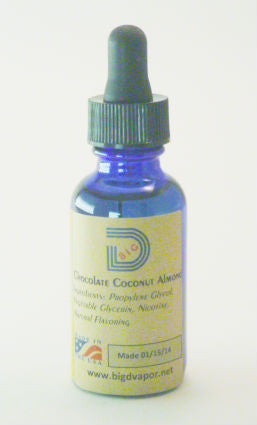 eLiquid -Chocolate Coconut Almond 30 mL - Big D Vapor