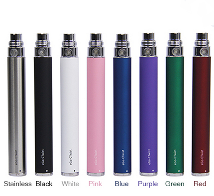eGO Twist 1100 mah Variable Voltage battery with Universal eGo-510 Thread