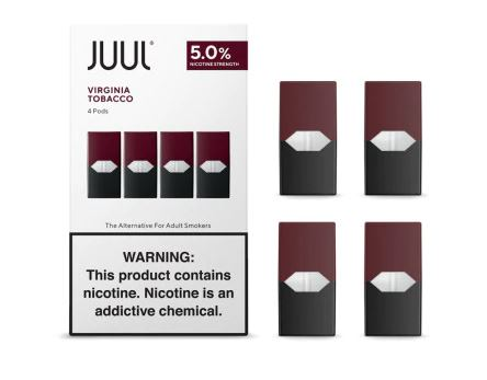 JUUL 5% Virginia Tobacco Pods (4 Pack)