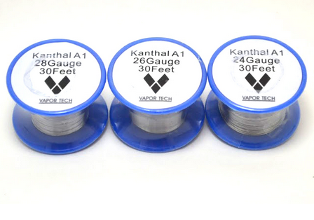 Kanthal A1 Wire 30 Foot RBA Coil