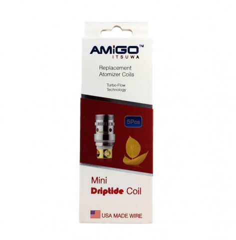 Amigo Mini Riptide/Driptide Replacement Atomizer Coils (5 Pack)