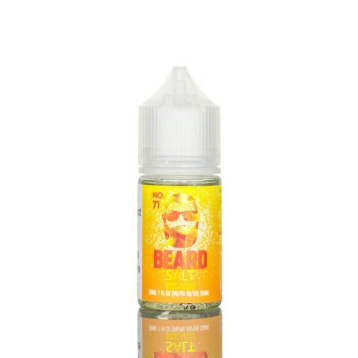Beard Salt Sweet and Sour Sugar Peach 30mg/50mg 30ml e-liquid