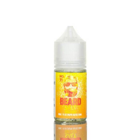 Beard Salts No. 71 Sweet and Sour Sugar Peach 30ml Bottle