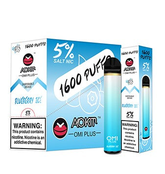 OMI Plus 1600 Puff Disposable Vape (10 Flavors)