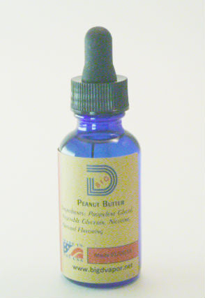 eLiquid -Peanut Butter 30 mL - Big D Vapor