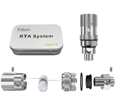 Aspire Triton RTA / RBA Kit