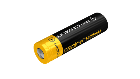 Aspire 18650 ICR High Drain Battery 40A Output 1800mah