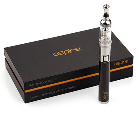Aspire Premium Kit with 1000 mah Battery, Mini Nautilus, 5 Coils and Chargers