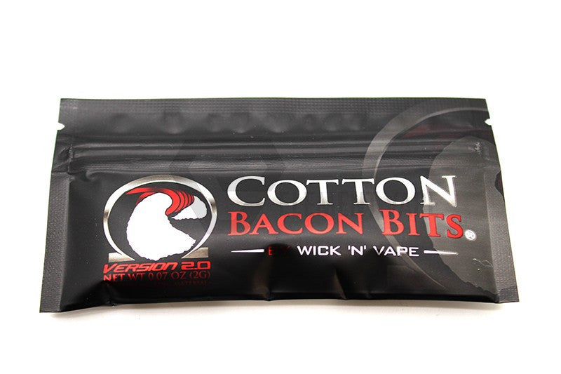 Cotton Bacon Bits 2.0 by Wick-N-Vape - Big D Vapor - 1