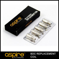Aspire BVC (BDC Replacement) Coils for ET, ET-S, and K1