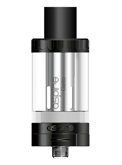 Aspire Cleito Top Fill Tank Kit with Coils & 4 Color Tops - Big D Vapor - 1