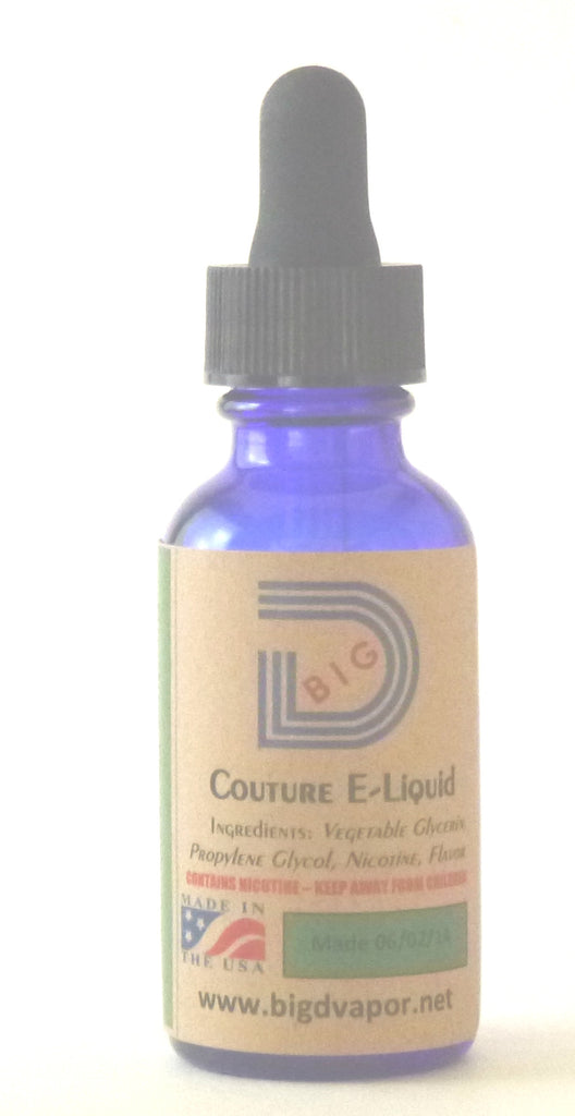 eLiquid - Blue Bull (Energy Drink) 30 mL - Big D Vapor