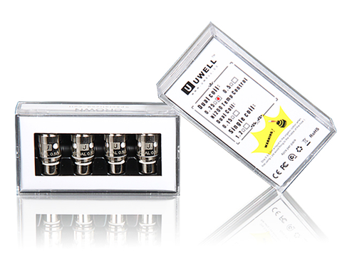 Uwell Crown Tank Coils: Dual Coil or Nickel Ni200 (4 Pack)
