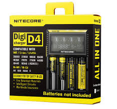 Nitecore Digicharger D4 Four Cell Lithium Ion IMR Charger - Big D Vapor - 1