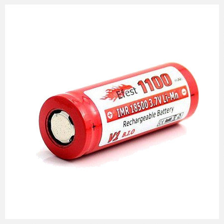 eFest IMR 18500 Button Top 1100mah Battery