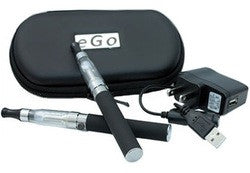 eGo Deluxe Kit with 2 Pen Vaporizers and Carrying Case - Big D Vapor - 1