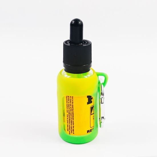 Glow in the dark 30ml Bottle Sleeve with Carabiner - Big D Vapor - 1