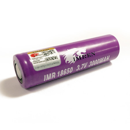 Imren 40A IMR 18650 High Drain 3000mah Lithium Battery