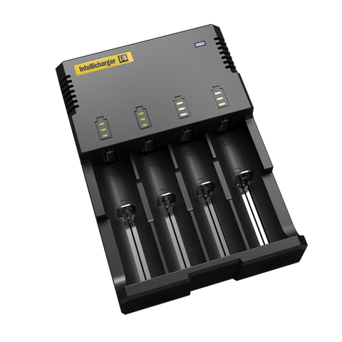 Nitecore Intellicharger i4 2014 Version Lithium Ion IMR Smart Charger
