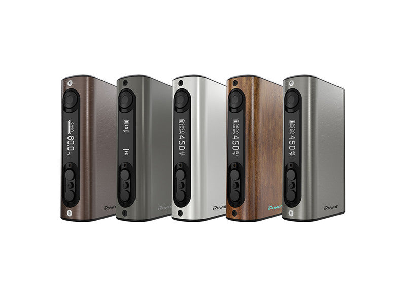 eLeaf iPower 80 Watt Mod with 5000mah Built In Battery - Big D Vapor - 1