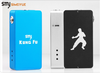 SMY Kung Fu Unregulated Mechanical Box Mod with MOFSET & Micro USB - Big D Vapor - 4