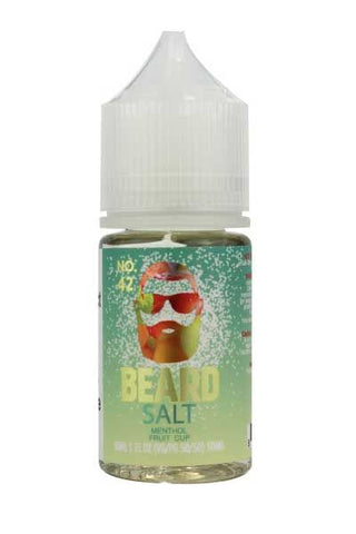 Beard Salts No. 42 Menthol Fruit Cup 30ml Bottle
