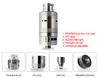 Rage 3 in 1 Sub Ohm Tank, RBA, and RDA - Big D Vapor - 5