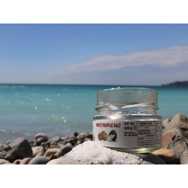 Truffle Salt in Beach Landscape
