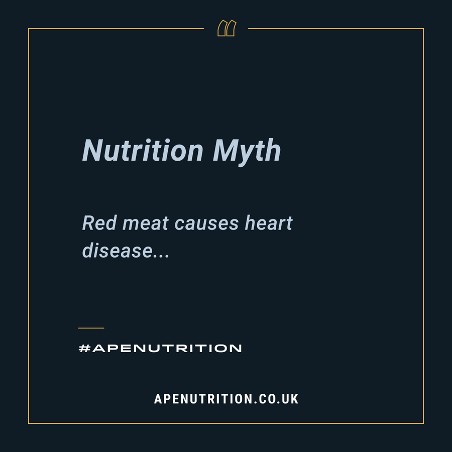 Nutrition Myth: Red Meat Causes Heart Disease