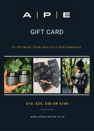 APE Nutrition Gift Cards