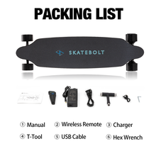 Load image into Gallery viewer, Skatebolt Tornado Pro A Electric Longboard 22-25 mile range