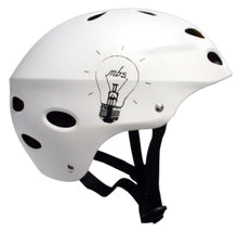Load image into Gallery viewer, MBS Helmet - Bright Idea - White