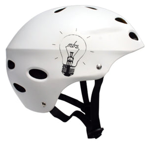 MBS Helmet - Bright Idea - White