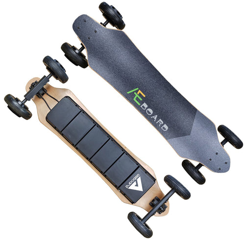 AEBoard AT2 Plus All Terrain Electric Longboard 6 Inch Wheels 34 mph